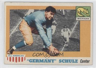 """1955 Topps All American - [Base] #87 - """"Germany"""" Schulz"""