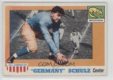 "1955 Topps All American - [Base] #87 - ""Germany"" Schulz"