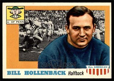 1955 Topps All American - [Base] #96 - BIll Hollenback [EX MT]