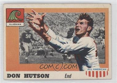 1955 Topps All American - [Base] #97 - Don Hutson [Good to VG‑EX]