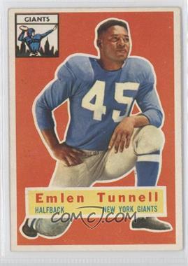 1956 Topps - [Base] #17 - Emlen Tunnell