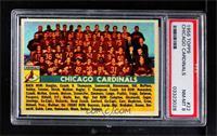 Chicago Cardinals Team [PSA8NM‑MT]