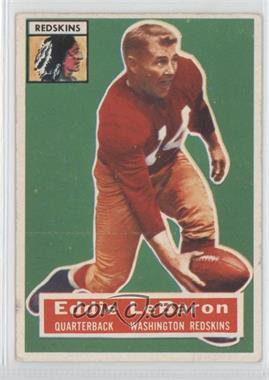 1956 Topps - [Base] #49 - Eddie LeBaron
