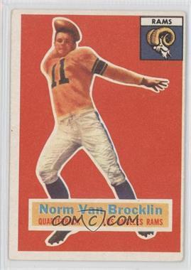 1956 Topps - [Base] #6 - Norm Van Brocklin