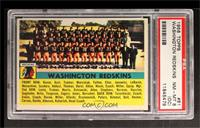 Washington Redskins Team [PSA 8 (OC)]