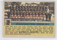 Washington Redskins Team [Poor to Fair]