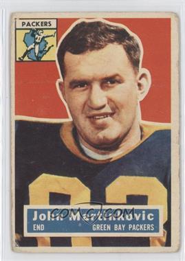1956 Topps - [Base] #91 - John Martinkovic