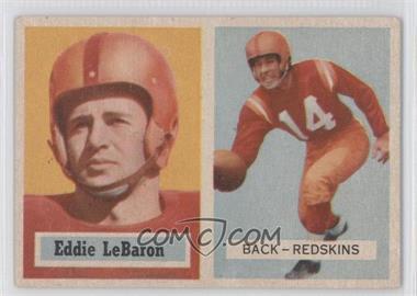 1957 Topps - [Base] #1 - Eddie LeBaron