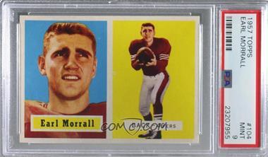 1957 Topps - [Base] #104 - Earl Morrall [PSA9MINT]