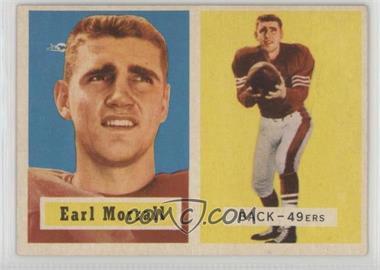 1957 Topps - [Base] #104 - Earl Morrall