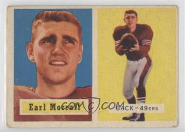 1957 Topps - [Base] #104 - Earl Morrall [GoodtoVG‑EX]
