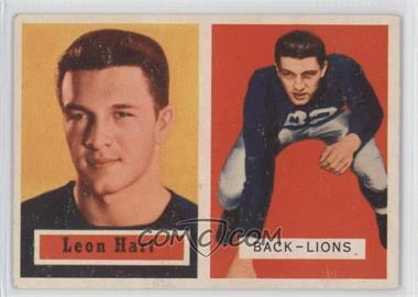 1957 Topps - [Base] #118 - Leon Hart