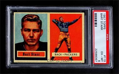 1957 Topps - [Base] #119 - Bart Starr [PSA6EX‑MT]