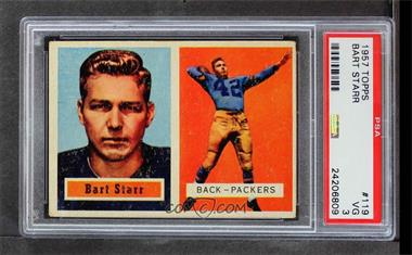 1957 Topps - [Base] #119 - Bart Starr [PSA3VG]