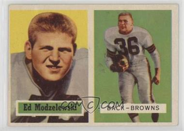 1957 Topps - [Base] #127 - Ed Modzelewski [Good to VG‑EX]