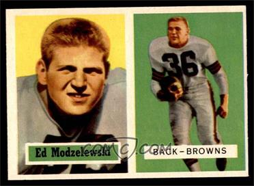 1957 Topps - [Base] #127 - Ed Modzelewski [EX]