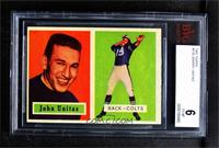 Johnny Unitas [BVG 6 EX‑MT]