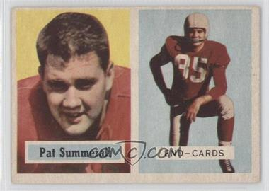 1957 Topps - [Base] #14 - Pat Summerall