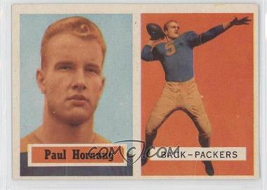 1957 Topps - [Base] #151 - Paul Hornung