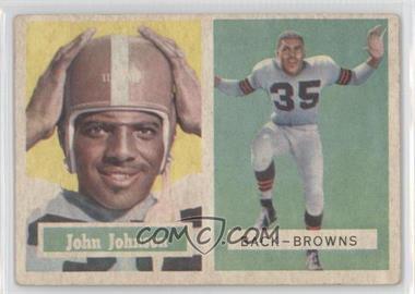 1957 Topps - [Base] #16 - John Johnson