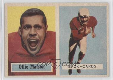1957 Topps - [Base] #26 - Ollie Matson
