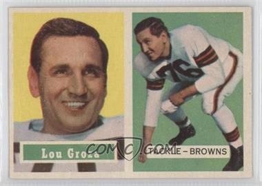 1957 Topps - [Base] #28 - Lou Groza