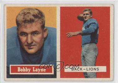 1957 Topps - [Base] #32 - Bobby Layne