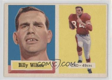 1957 Topps - [Base] #42 - Billy Wilson