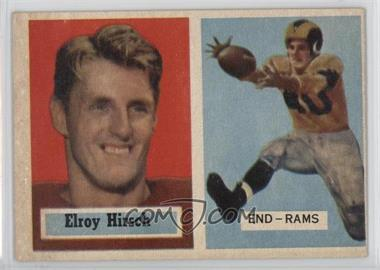 1957 Topps - [Base] #46 - Elroy Hirsch