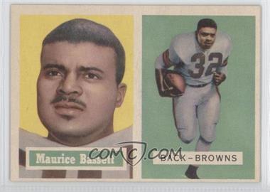 1957 Topps - [Base] #64 - Maurice Bassett