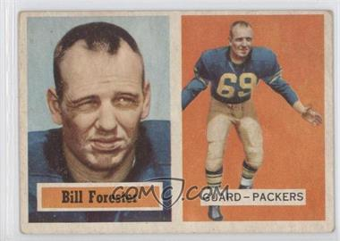 1957 Topps - [Base] #69 - Bill Forester [Good to VG‑EX]