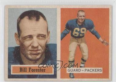 1957 Topps - [Base] #69 - Bill Forester