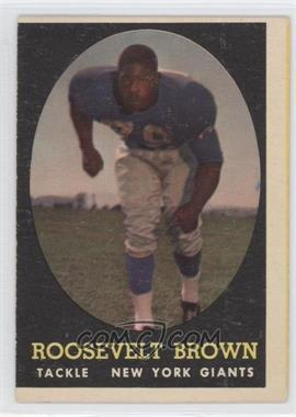 1958 Topps - [Base] #102 - Rosey Brown