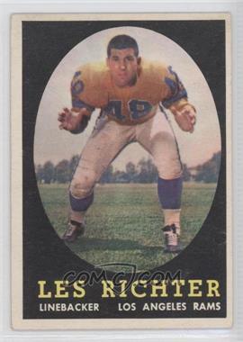1958 Topps - [Base] #105 - Les Richter