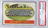 Baltimore Colts Team [PSA 4]