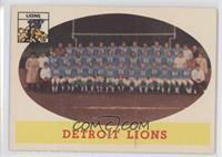 Detroit Lions Team [Good to VG‑EX]