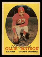 Ollie Matson [VGEX]