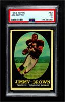 Jim Brown [PSA 5 EX]