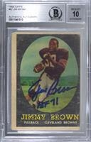 Jim Brown [BAS Certified BGS Encased]