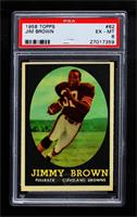 Jim Brown [PSA 6 EX‑MT]