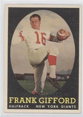 1958 Topps - [Base] #73 - Frank Gifford