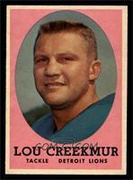 Lou Creekmur [NM]