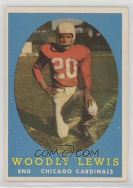 1958 Topps - [Base] #82 - Woodley Lewis