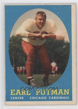 1958 Topps - [Base] #88 - Earl Putman [GoodtoVG‑EX]