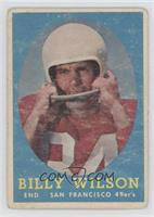 Billy Wilson [Good to VG‑EX]