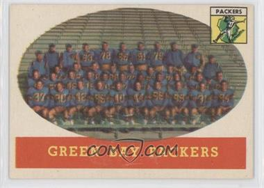1958 Topps - [Base] #96 - Green Bay Packers Team