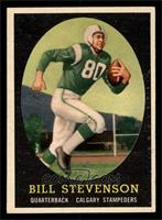 Bill Stevenson [EXMT]