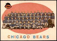 Chicago Bears Team Check List [NM+]