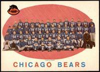 Chicago Bears Team Check List [NMMT]