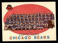 Chicago Bears Team Check List [NM]